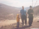 Standing at Overmountain by SGT Rock in Section Hikers