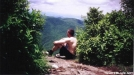 Relaxing on Standing Indian Mountain by SGT Rock in Faces
