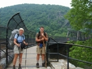 At Harpers Ferry Railroad Bridge by Blissful in Virginia & West Virginia Trail Towns