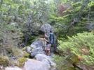 Paul Bunyan Enters Mahoosuc Notch by Blissful in Trail & Blazes in Maine