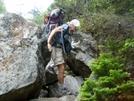 Blissful Rock Hops In Mahoosuc Notch by Blissful in Trail & Blazes in Maine