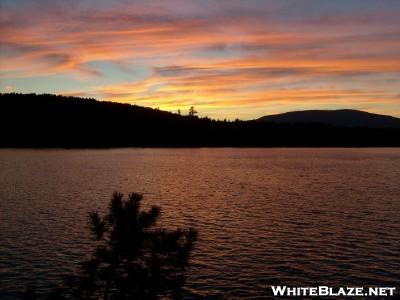 Sunset At Pierce Pond
