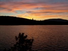 Sunset At Pierce Pond by Blissful in Pierce Pond Lean-to