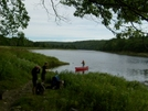 At The Kennebec River by Blissful in Trail & Blazes in Maine