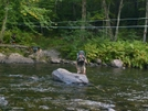 Paul Bunyan Fords Big Wilson Stream by Blissful in Trail & Blazes in Maine