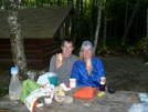 Our Final Trail Dinner by Blissful in Thru - Hikers