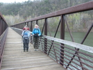 Section Start At James River Footbridge by Blissful in Trail & Blazes in Virginia & West Virginia