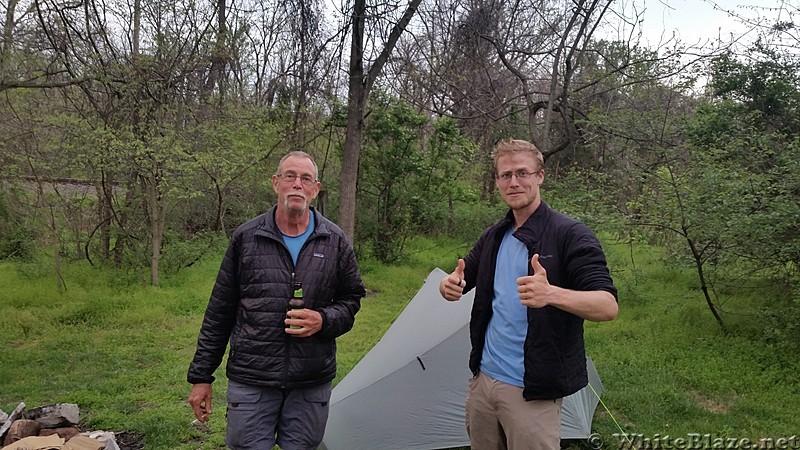 AT Camp at Boiling Springs
