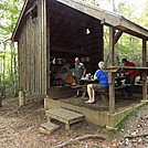 Section Hike by FlyPaper in Gooch Mountain Shelter