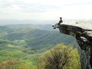 Onstar At Mcafee Knob by FlyPaper in Section Hikers