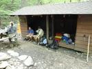 Eli at Bobblet's Gap Shelter by FlyPaper in Thru - Hikers