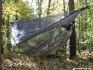 My synthetic underquilt by Patrick in Hammock camping