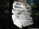 Trail sign by aufgahoban in Trail & Blazes in New Jersey & New York