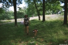 Matt and U-dog near Fingerboard Shelter. by refreeman in Thru - Hikers