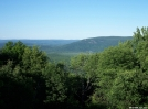 View from the top of Prospect Mountain in CT, June 2007.