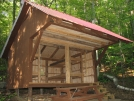 NEW Mount Wilcox South Lean-to: Left Side by refreeman in Massachusetts Shelters