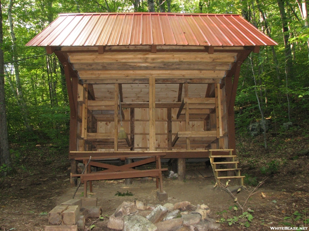 NEW Mount Wilcox South Lean-to: Front