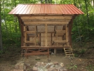 NEW Mount Wilcox South Lean-to: Front by refreeman in Massachusetts Shelters