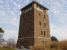 Perkins Memorial Tower on the summit of Bear Mountain in New York. by refreeman in Trail & Blazes in New Jersey & New York