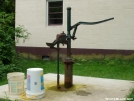 RPH Shelter, NY: Rusty Old Pump by refreeman in New Jersey & New York Shelters
