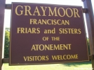 Graymoor Friary Pavillion and Campsite, NY: Main Sign