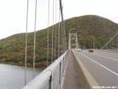 Walking east on Bear Mountain Bridge