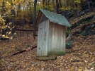 NY: Telephone Pioneers Shelter, Privy by refreeman in New Jersey & New York Shelters