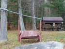 Silver Hill Campsite in CT: Grounded Swing