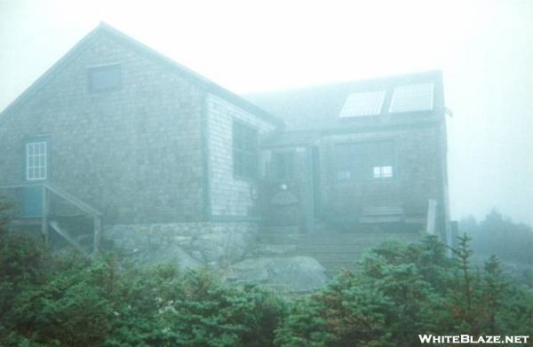 AMC Hut GreenLeaf in the Clouds