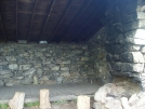 NY: West Mountain Shelter, Right Fireplace