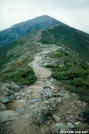 AT on Franconia Ridge up to summit of MT Lafayette
