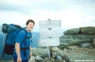 Summit sign Franconia Ridge by refreeman in Trail & Blazes in New Hampshire