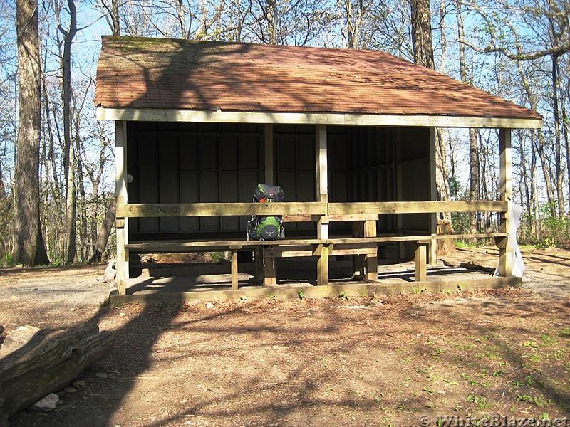 Blue Mountain Shelter GA