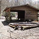 Muskrat Creek Shelter NC