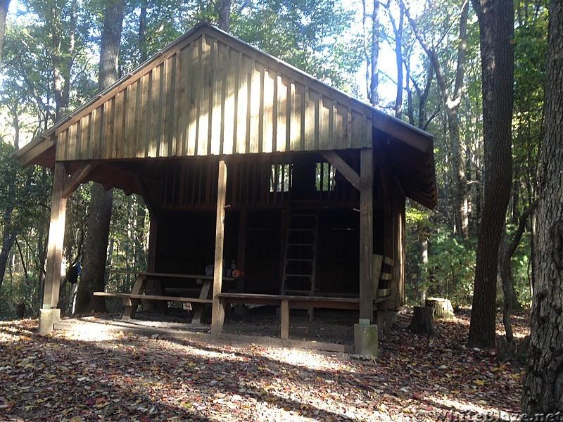 Stover Creek Shelter GA