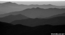 Layered Ridges from Clingman's Dome by Ratbert in Views in North Carolina & Tennessee