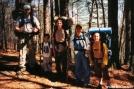 SteveJ family backpacking circa 2000