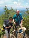 Hiking Northbound Into Nantahala Gorge