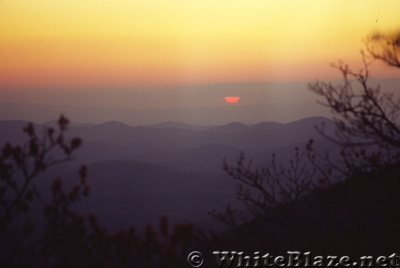 Blood Mountain Sunset 1983