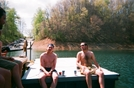 Slapshot And Jellyfish - Fontana Lake by Anumber1 in Thru - Hikers