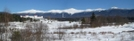 Post Card View Of Presidential Range Nh In Winter