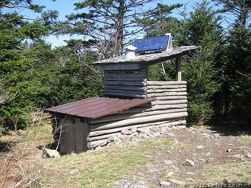 solar composting privy thomas knob shelter