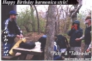 Happy Birthday! by Jaybird in Springer Mountain Shelter