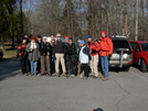 TTA group-New Years Day hike by Jaybird in Trail & Blazes in North Carolina & Tennessee