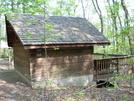 David Lesser Shelter by Jaybird in Virginia & West Virginia Shelters