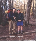 Jaybird & Jigsaw @ foot of Standing Indian Mtn. by Jaybird in Section Hikers