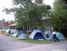 Tents @ the Place by Jaybird in 2004 Trail Days