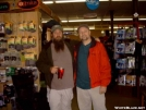 Lone Wolf & Jaybird meet! by Jaybird in Virginia & West Virginia Trail Towns