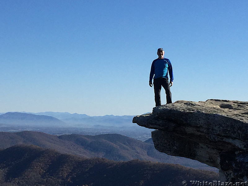 Ed at Mcafee Knob