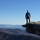 Ed at Mcafee Knob by SCEd in Faces of WhiteBlaze members